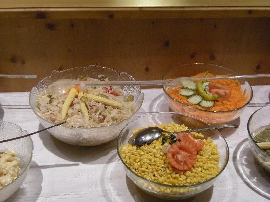 Hotel Hannes: Salat Bar3
