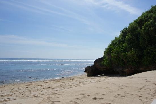 Banyan Tree Ungasan, Bali: Hotelstrand