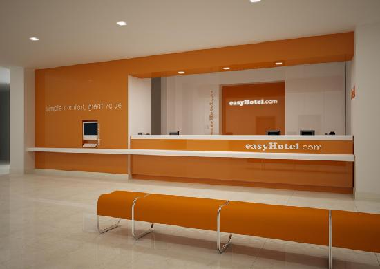 easyHotel Dubai Reception