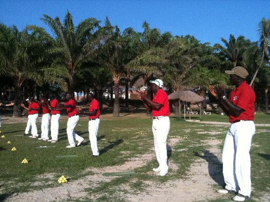Club Med Cap Skirring : La démo golf