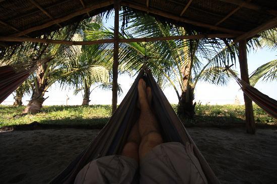 Playa Koralia: hammock