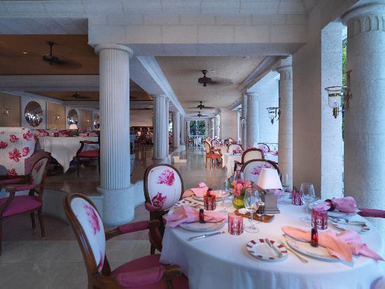 Sandy Lane Hotel : L'Acajou Restaurant