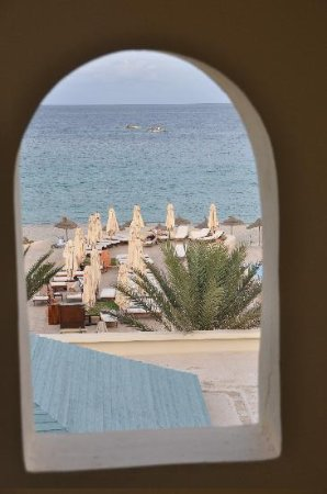 Radisson Blu Ulysse Resort & Thalasso Djerba: Ausblick vom Zimmer