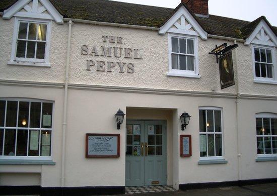 Samuel Pepys: Samuel Pepys - High Street, Huntingdon, Cambs