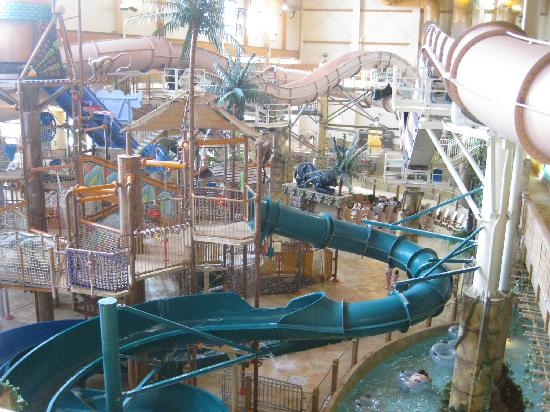 Chula Vista Resort Wisconsin Dells Wi United States: Pic Of Waterpark (cannot Fit Entire Thing In Even 10