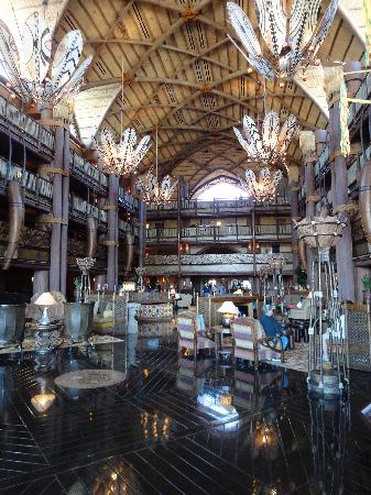 Disney's Animal Kingdom Lodge : Wonderful Common Areas