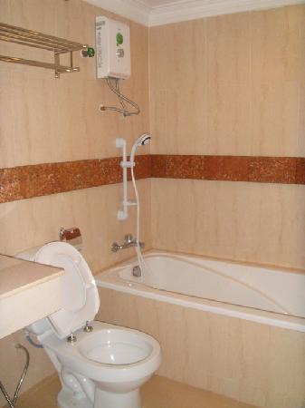 Skyway Hotel: Bathroom