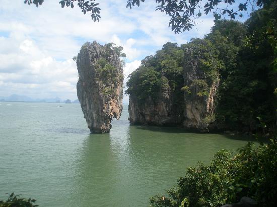 Club Med Phuket: ile de james bond