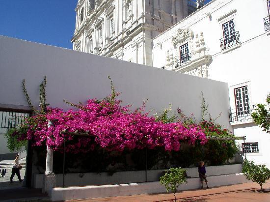 Igreja da Sao Vicente de Fora: Sao Vicente Vorhof