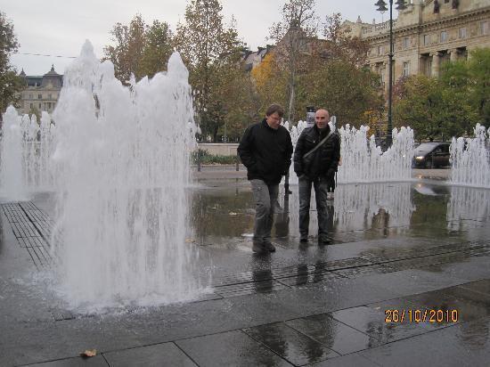 Budapest-sensations : place de la liberté
