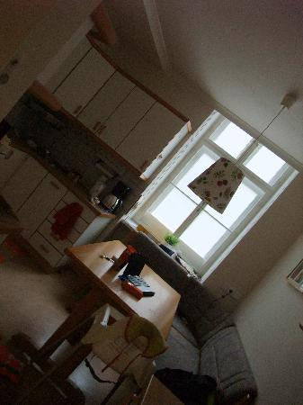 Stadtnest Bed & Breakfast and Apartment : cuisine