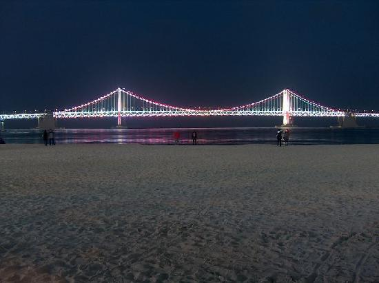 Busan, Sydkorea: Gangan Grand-Bridge