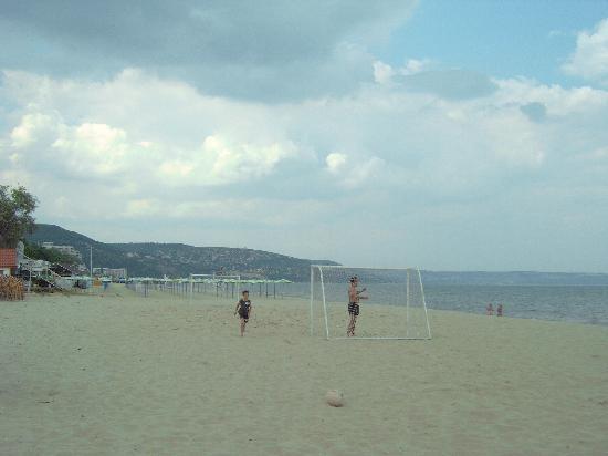Hotel Gergana : the beach