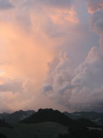 Locanda della Valle Nuova: renaissance sunset