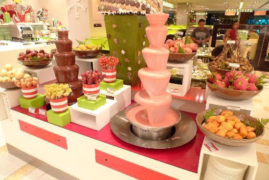 Shangri-La Hotel Kuala Lumpur: Breakfast buffet