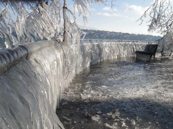 Hotel Admiral Geneva : 氷の世界