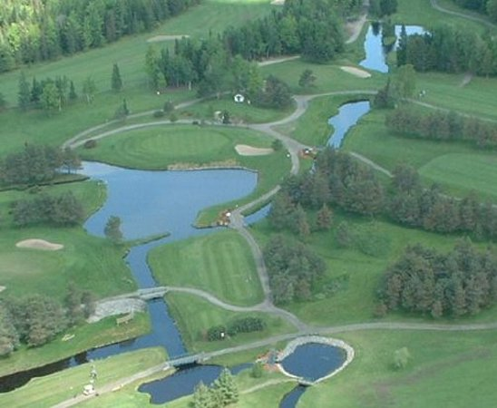 Sherbrooke, Kanada: Signature hole: par 3 15th