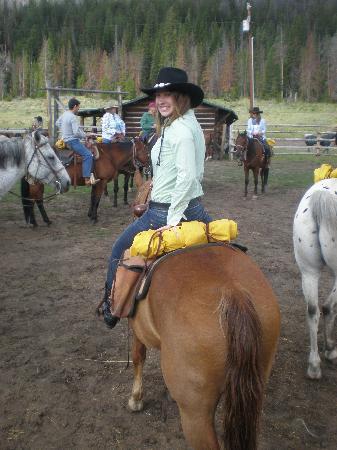 T Cross Ranch: At the ranch
