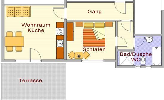 Haus Sonja: Appartement 2-4 Personen
