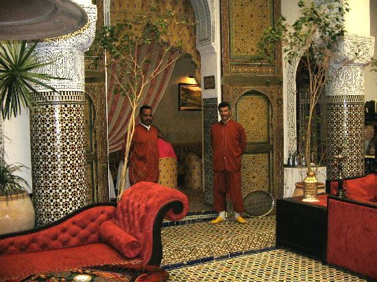 Φες, Μαρόκο: Palasthotel in Fes