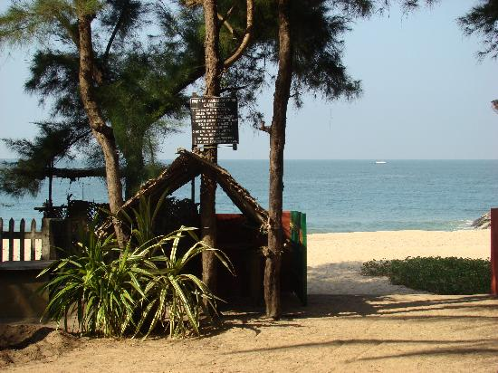 Justa Turtlebay On Sea Kundapur Resort Beach View From The