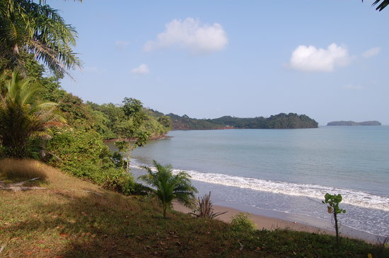 Monkey Point, Nikaragua: Lodge Beach