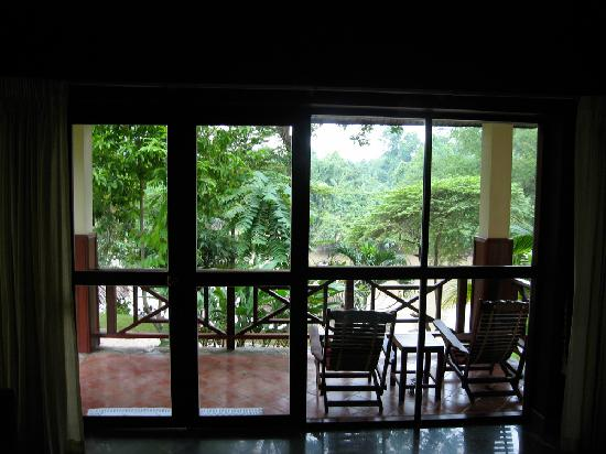 Oriental Kwai Resort: View from cottage nr. 1