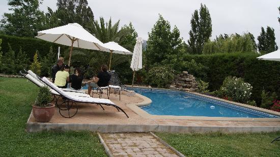 Posada Colchagua: Der Swimmingpool