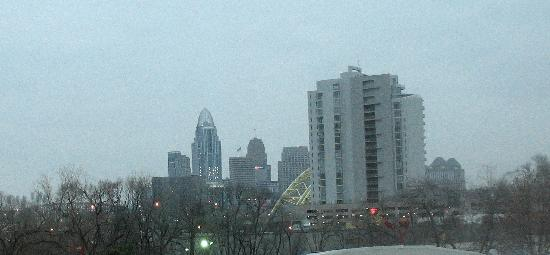 Holiday Inn Express Hotel & Suites Cincinnati: View from room 333.