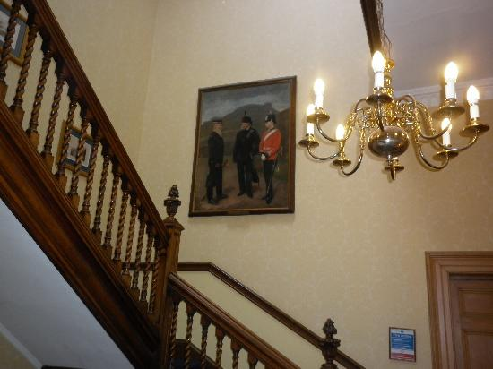 The Royal Scots Club: A staircase