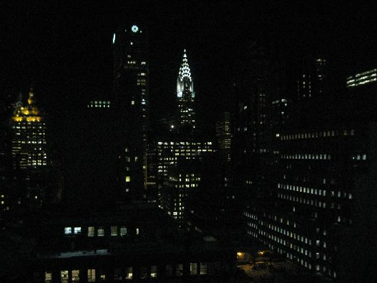 Sofitel New York: View From Bed Night