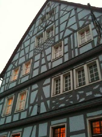 Hotel Blaues Haus: the blue house