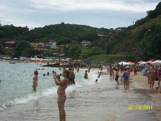 Hotel e Pousada Mykonos: Praia Joao Fernandes