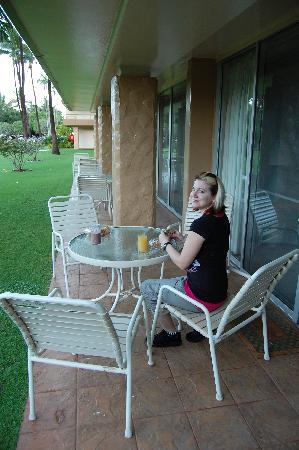 Aston Maui Kaanapali Villas: Our Lanai