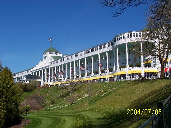 Grand Hotel: From the front drive