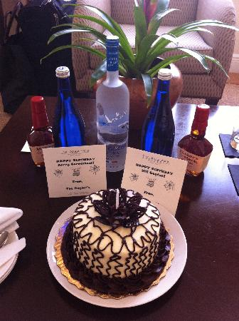 Remarkable Birthday Cake Picture Of Kimpton Anglers Hotel Miami Beach Funny Birthday Cards Online Alyptdamsfinfo