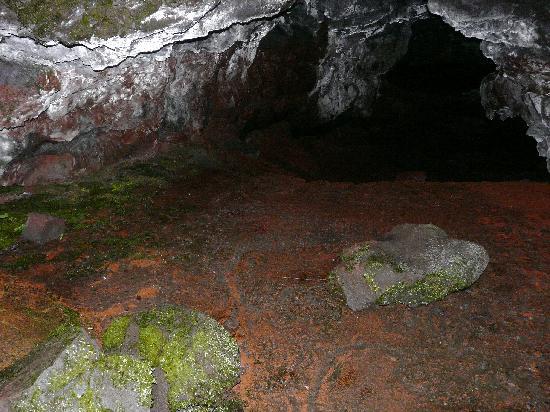 Kaumana Caves Park: Into the Left Tube