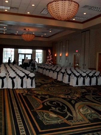Best Western Premier Bridgewood Resort Hotel: ceremony room Bridgewood Resort/Neenah