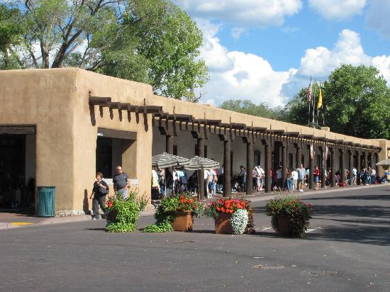 Hyatt Place Santa Fe : Palace of the Governors in Santa Fe, New Mexico.