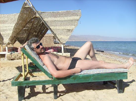 Ciao Nuweiba Hotel: Пляж