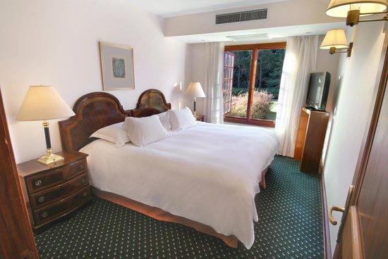 باراداس بارك هوتل آند سبا: Suite Classic Bedroom at Barradas Parque Hotel