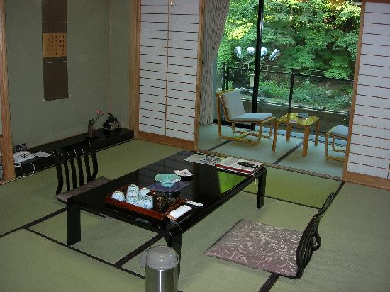 Osawa Onsen Sansuikaku: my room