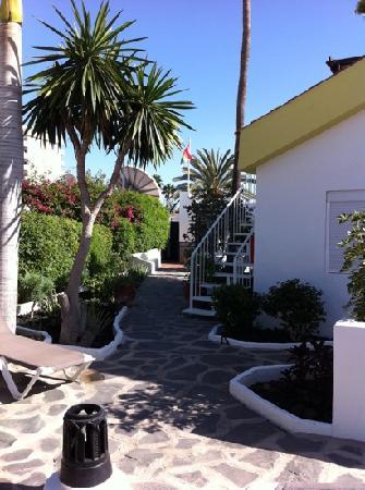 Tabaibas: La Residence, Blick vom Pool