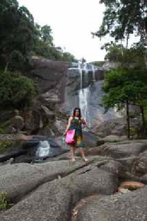 Telaga Tujuh Waterfalls: Last photo