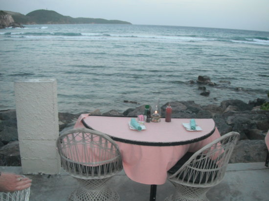 Mim's Seaside Bistro : view from table
