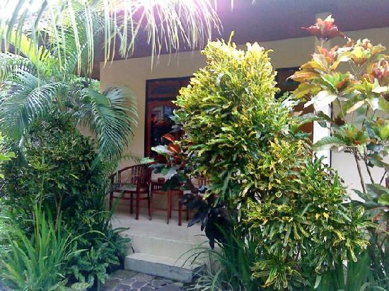 Kusnadi Hotel: my terrace