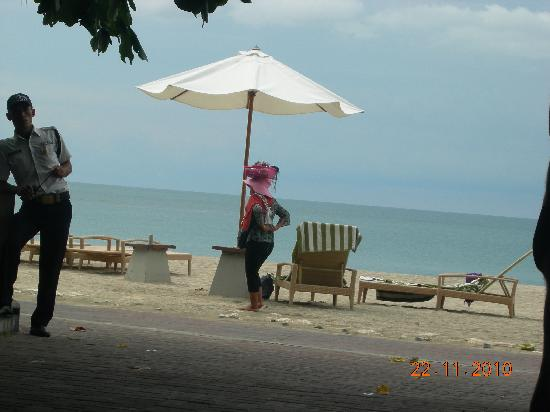 Bali Garden Beach Resort: security