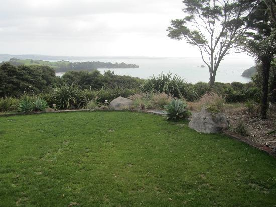 Koi Roc Waiheke Island Accommodation: The view from the apartment