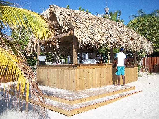 Beaches Negril Resort Spa One Of The Bar Huts On Beach