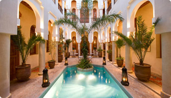 Angsana riads collection morocco riad bab firdaus for Best riads in marrakesh